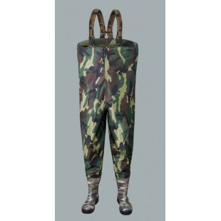 Waterproof Chest Waders Nylon Camouflage Sbn01cam