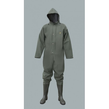 Waterproof Overalls with Pvc Boots