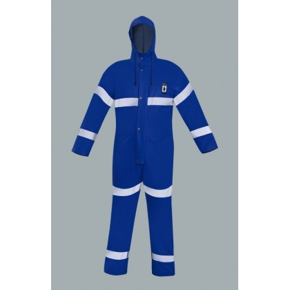 Waterproof Overalls with Reflective Tapes