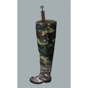 Waterproof Thigh Waders Nylon Camouflage Wrn02cam