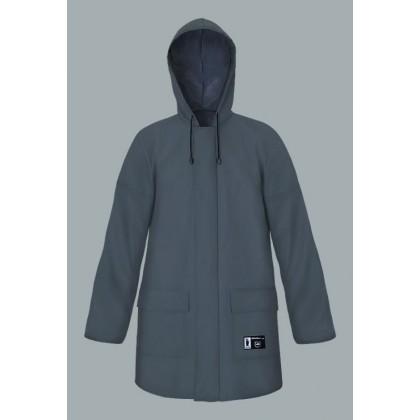 Waterproof Jacket 3/4 (Zip and Snaps)