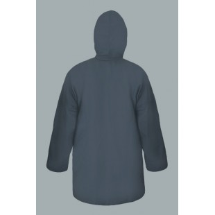 Waterproof Jacket 3/4 (Zip and Snaps)