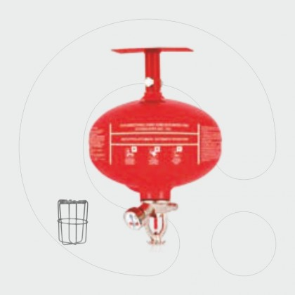 Automatic Fire Extinguisher 1 kg Dry Powder ABC 40%
