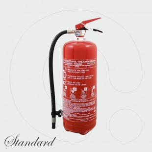Fire Extinguisher 6 kg Dry Powder ABC 40% - Standard