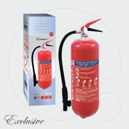 Aparat për shuarjen e zjarrit, 12 kg pluhur ABC 40%