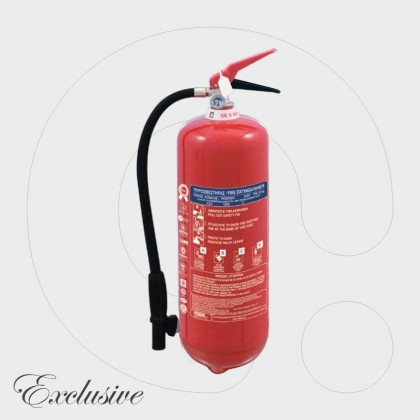 Fire Extinguisher 6 kg Dry Powder ABC 40%