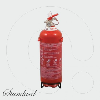 Fire Extinguisher 1 kg Dry Powder ABC 40%