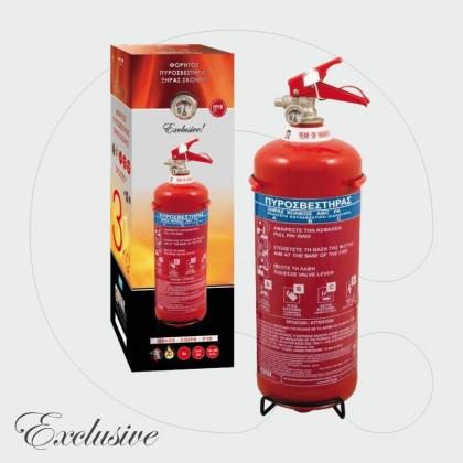 Aparat për shuarjen e zjarrit, 3 kg pluhur ABC 40%
