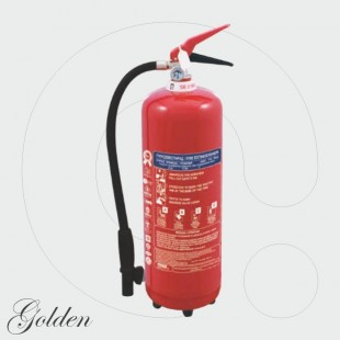 Fire Extinguisher 6 kg Dry Powder ABC 40% - Golden