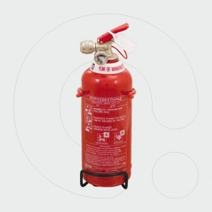 Fire Extinguisher, 2 l Foam