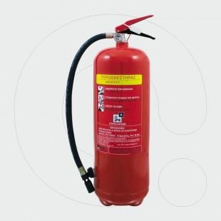 Aparat për shuarjen e zjarrit, 6 l ujë