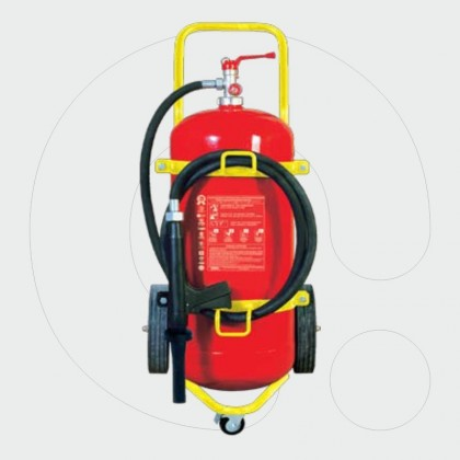 Trolley Fire Extinguisher 50 l Foam