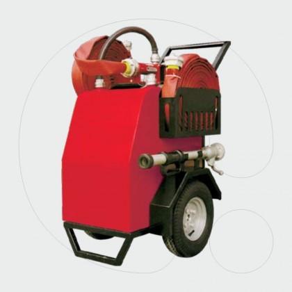 Aparat zjarrfikës - gjenerator shkume i transp. me rrota