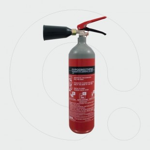 Fire Extinguisher 2 kg Carbon Dioxide (CO2)