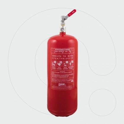 Fire Extinguisher 6 kg Dry Powder Local Application Single Outlet