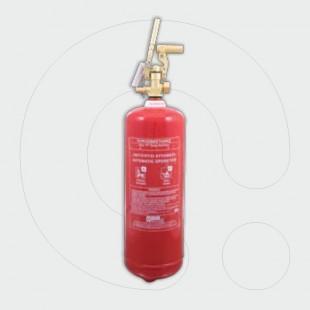 Aparat për shuarjen e zjarrit, 6 l solucion i klasës F, për aplikim lokal