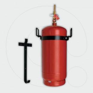 Aparat për shuarjen e zjarrit, 11-20 l solucion i klasës F, për aplikim lokal