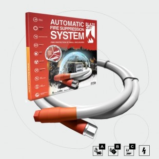 Automatic ΗFC-227ea Fire Suppression System, 1m