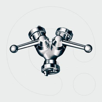 Distributors with ball-valves