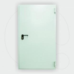 Single leaf Fire Door 60 min, 1.000 x 2.150 mm