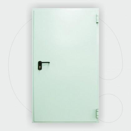 Single leaf Fire Door 60 min, 1.100 x 2.150 mm