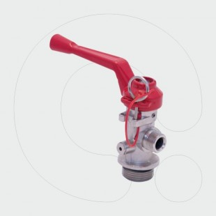 Dry Powder/Foam Trolley Extinguisher Valve