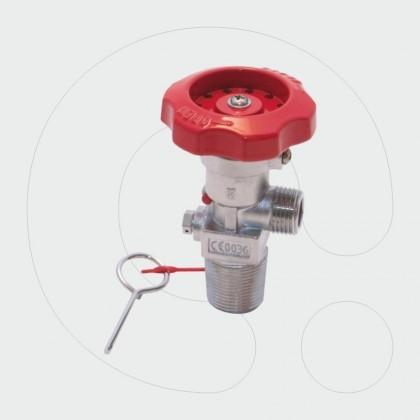 CO2 Valve 27,8x14 (25E) Inlet Thread