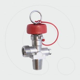 Valvulë për aparat zjarrfikës CO2, 19,2 x 14 (17E) me fileta të brendshme