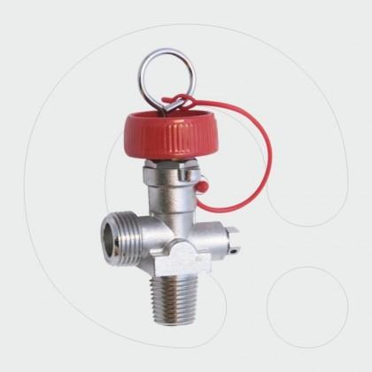 CO2 Valve 19,2 x 14 (17E) Inlet Thread
