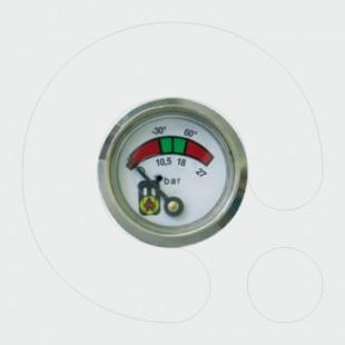Manometër Φ23 me vrimë  testuese