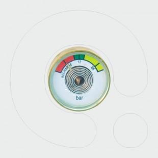 Manometër Φ25, me filter, pa O-unazë