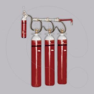 Sistem për shuarjen e zjarrit me CO2