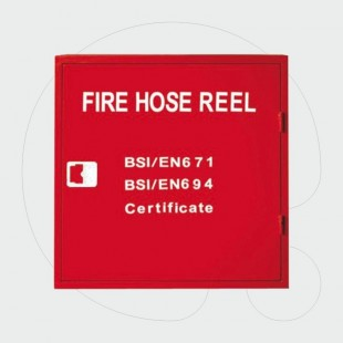 Complete Certificated Fire Hose Cabinet - assembled