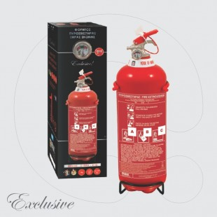 Fire Extinguisher 1 kg Dry Powder ABC 40% - Exclusive