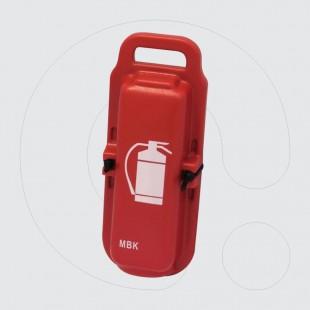 Kuti mbrojtëse e plastikës e transportimit të aparateve për shuarjen e zjarrit me kapacitet 1kg/1l