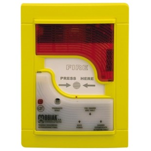One zone fire detection panel