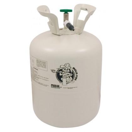 Portable helium cylinder