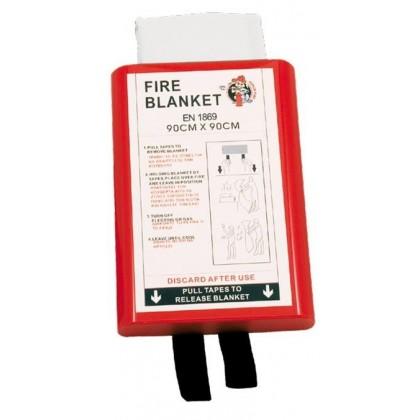 Mbulesa rezistente ndaj zjarrit, 1,5 x 1,5m