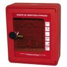 Kuader hidranti me derë te tejdukshme PVC, e sigurt nga perplasjet