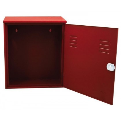 Fire Hose Cabinet with Hook, Galvanized
