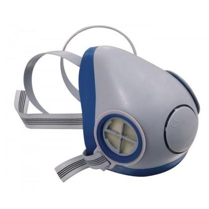 Gjysmë maskë me dy filtra, nga goma