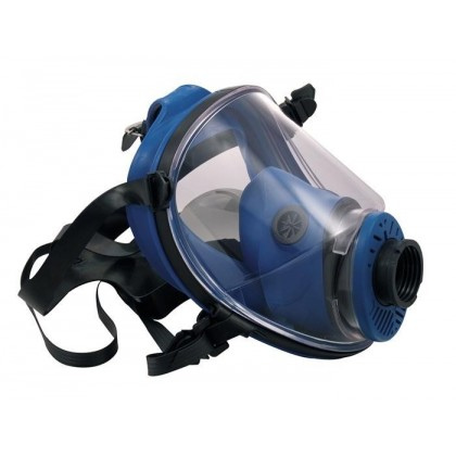 Full face mask rubber made
