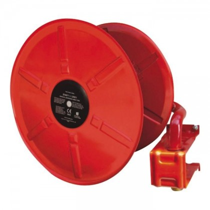 Wall Mounted Manual Swinging Hose Reel with Fire Hose 1.3'' - 30m