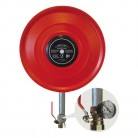 Wall Mounted Manual Stable Hose Reel with Fire Hose 3/4''