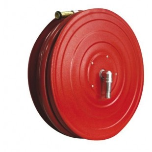 Wall Mounted Automatic Swinging Hose Reel with Fire Hose 1''