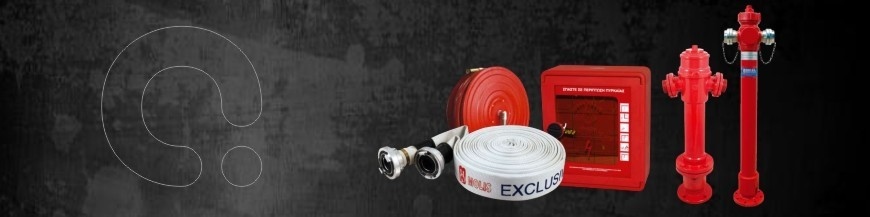 Fire cabinets and hydrants and equipment